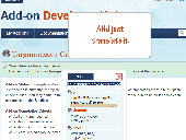 Firefox Add-on Preview 2